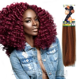AFRI DEFINITION BRAID BLOWOUT 100% KANEKALON CROCHET STYLES LATCH FRIENDLY