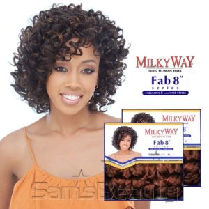 MILKING WAY 100% HUMAN HAIR CURLY OR STRAIGHT