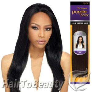 MILKY WAY 100% HUMAN HAIR SYTLE: YAKI WEAVE TANGLE FREE