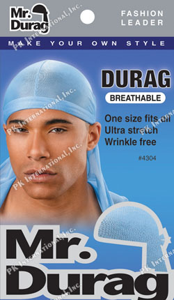 MR DURAG – DURAG BREATHABLE (BROWN, SKY BLUE)