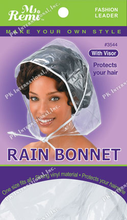 MS REMI RAIN BONNET