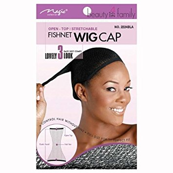 T&G UK OPEN – TOP- STRETCHABLE FISHNET WIG
