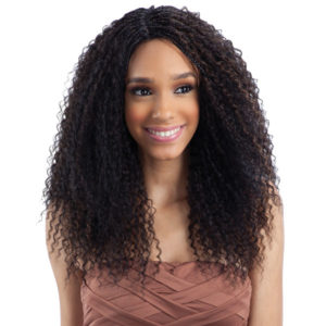 Fretress Equal Lace Front Straw Curl Braids