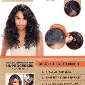 Sensationnel Brazillian Lace Wig Natural Curly