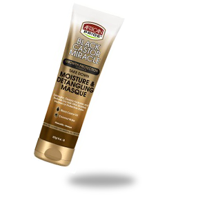 BLACK CASTOR MIRACLE GROWTH PROTECTION MOISTURE DETANGLING MASQUE