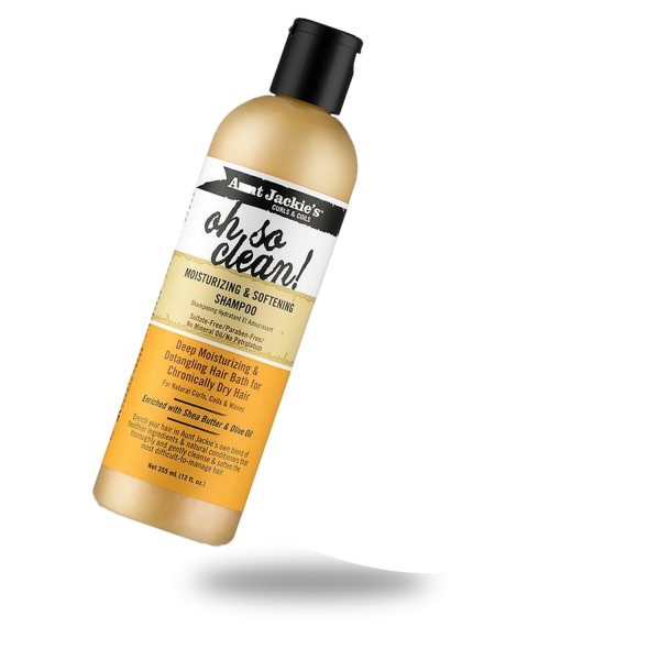 AUNT JACKIES OH SO CLEAN MOISTURIZING AND SOFTENING SHAMPOO
