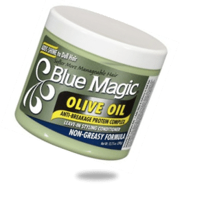 BLUE MAGIC OLIVE OIL STYLING LEAVE IN CONDITIONER