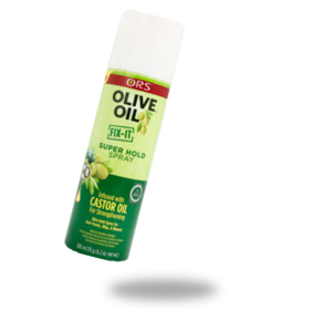 SUPER HOLD SPRAY INFUSED WITH CASTOR OIL