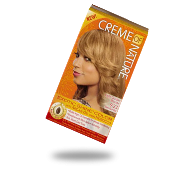 Crème of Nature Exotic Shine and Color Light Golden Blonde